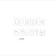 亜鉛ステンシル板    2018/07/04 出荷分の画像1